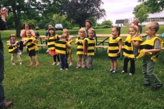 Busy Bees Preschool Field Trip to Museum of the Grand Prairie May 2017